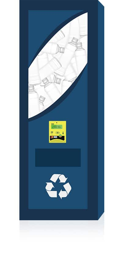 Credit card solution for Reverse Vending & Recycling machines