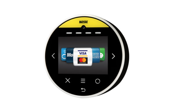 Nayax's Onyx is a contactless card reader & telemetry device