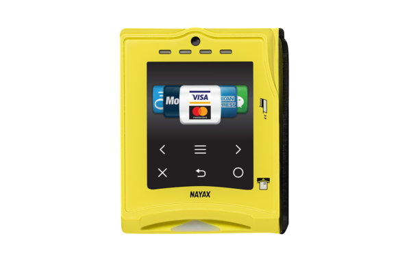Nayax's cashless payment solution the VPOS Touch is more than a credit card payment system - it provides multiple payment choices, telemetry, remote monitoring, management, consumer engagement and digital loyalty programs.