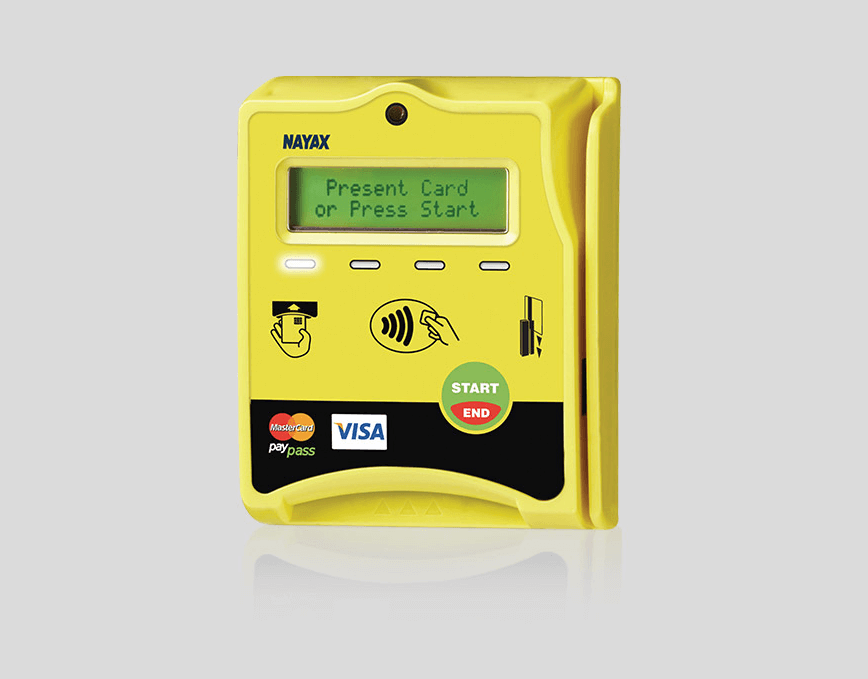 Cashless credit card reader for vending and pulse machines